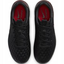 Buty piłkarskie Nike Tiempo Legend 8 Academy FG/MG Junior AT5732 060 czarne czarne 1