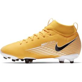 Buty piłkarskie Nike Mercurial Superfly 7 Academy FG/MG Junior AT8120 801 pomarańczowe 2
