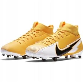 Buty piłkarskie Nike Mercurial Superfly 7 Academy FG/MG Junior AT8120 801 pomarańczowe 3