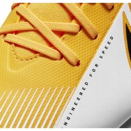 Buty piłkarskie Nike Mercurial Superfly 7 Academy FG/MG Junior AT8120 801 pomarańczowe 5