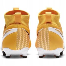 Buty piłkarskie Nike Mercurial Superfly 7 Academy FG/MG Junior AT8120 801 pomarańczowe 4