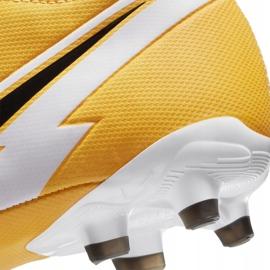 Buty piłkarskie Nike Mercurial Superfly 7 Academy FG/MG Junior AT8120 801 pomarańczowe 6