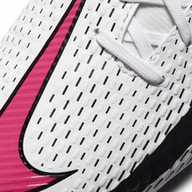 Buty piłkarskie Nike Phantom Gt Academy Df FG/MG Junior CW6694 160 białe białe 8