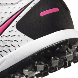 Buty piłkarskie Nike Phantom Gt Academy Df Tf Junior CW6695 160 białe białe 6