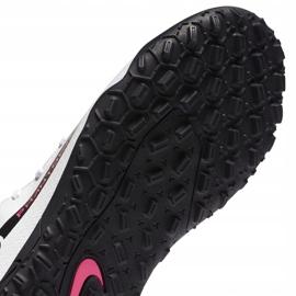 Buty piłkarskie Nike Phantom Gt Club Df Tf Junior CW6729 160 białe białe 7
