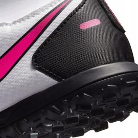 Buty piłkarskie Nike Phantom Gt Club Df Tf Junior CW6729 160 białe białe 6
