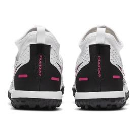 Buty piłkarskie Nike Phantom Gt Academy Df Tf Junior CW6695 160 białe białe 4