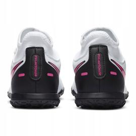 Buty piłkarskie Nike Phantom Gt Club Df Tf Junior CW6729 160 białe białe 4