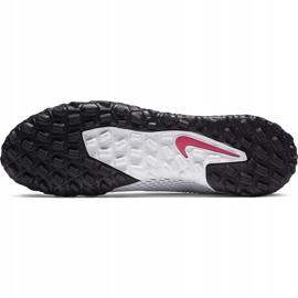 Buty piłkarskie Nike Phantom Gt Academy Tf CK8470 160 białe białe 8
