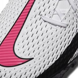Buty piłkarskie Nike Phantom Gt Academy Tf CK8470 160 białe białe 5