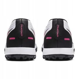 Buty piłkarskie Nike Phantom Gt Academy Tf CK8470 160 białe białe 4