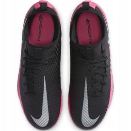 Buty piłkarskie Nike Phantom Gt Academy Df FG/MG Junior CW6694 006 czarne czarne 1