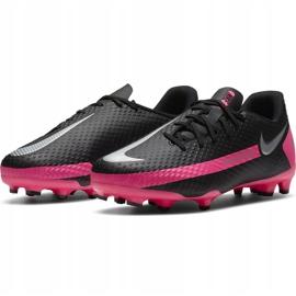 Buty piłkarskie Nike Phantom Gt Academy FG/MG Junior CK8476 006 czarne czarne 3