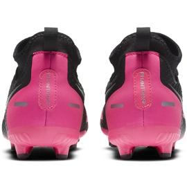 Buty piłkarskie Nike Phantom Gt Academy Df FG/MG Junior CW6694 006 czarne czarne 4