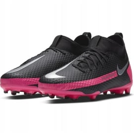 Buty piłkarskie Nike Phantom Gt Academy Df FG/MG Junior CW6694 006 czarne czarne 3