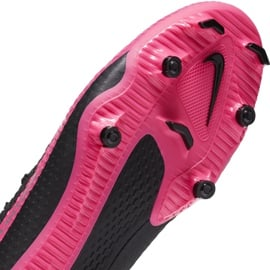 Buty piłkarskie Nike Phantom Gt Academy FG/MG CK8460 006 czarny,różowy czarne 7