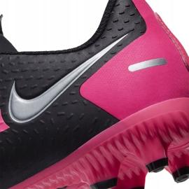 Buty piłkarskie Nike Phantom Gt Academy FG/MG Junior CK8476 006 czarne czarne 6