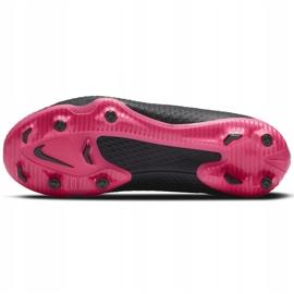 Buty piłkarskie Nike Phantom Gt Academy Df FG/MG Junior CW6694 006 czarne czarne 8