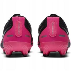 Buty piłkarskie Nike Phantom Gt Academy FG/MG CK8460 006 czarny,różowy czarne 4