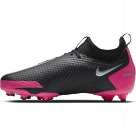 Buty piłkarskie Nike Phantom Gt Academy Df FG/MG Junior CW6694 006 czarne czarne 2