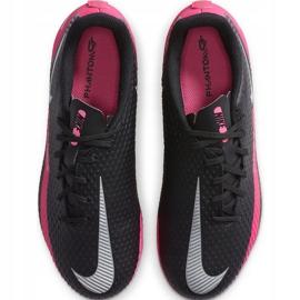 Buty piłkarskie Nike Phantom Gt Academy FG/MG Junior CK8476 006 czarne czarne 1
