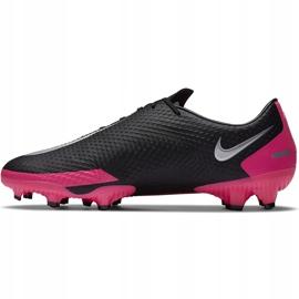 Buty piłkarskie Nike Phantom Gt Academy FG/MG CK8460 006 czarny,różowy czarne 2