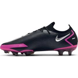 Buty piłkarskie Nike Phantom Gt Elite Fg CK8439 006 czarne czarne 3