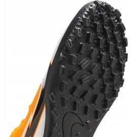 Buty piłkarskie Nike Mercurial Vapor 13 Club Tf AT7999 801 pomarańczowe pomarańczowe 7