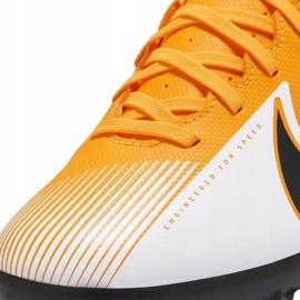 Buty piłkarskie Nike Mercurial Vapor 13 Club Tf AT7999 801 pomarańczowe pomarańczowe 5