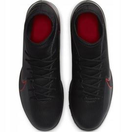 Buty piłkarskie Nike Mercurial Superfly 7 Club Tf AT7980 060 czarne czarne 1