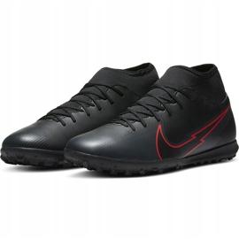 Buty piłkarskie Nike Mercurial Superfly 7 Club Tf AT7980 060 czarne czarne 3