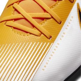 Buty piłkarskie Nike Mercurial Superfly 7 Club FG/MG AT7949 801 pomarańczowe żółte 5