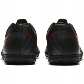Buty piłkarskie Nike Mercurial Vapor 13 Club Tf Junior AT8177 060 czarne czarne 4