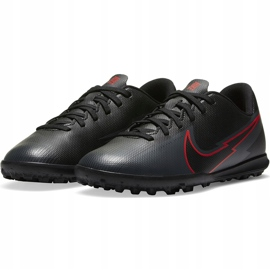 Buty piłkarskie Nike Mercurial Vapor 13 Club Tf Junior AT8177 060 czarne czarne 3