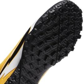 Buty piłkarskie Nike Mercurial Superfly 7 Academy Tf Junior AT8143 801 żółte pomarańczowe 7