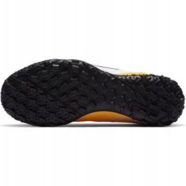 Buty piłkarskie Nike Mercurial Superfly 7 Academy Tf Junior AT8143 801 żółte pomarańczowe 8