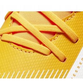 Buty piłkarskie Nike Mercurial Superfly 7 Club FG/MG Junior AT8150 801 żółte pomarańczowe 5