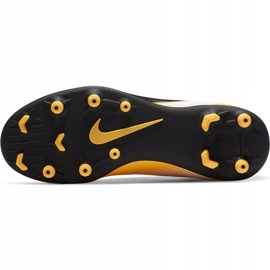 Buty piłkarskie Nike Mercurial Superfly 7 Club FG/MG Junior AT8150 801 żółte pomarańczowe 8