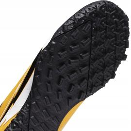 Buty piłkarskie Nike Mercurial Vapor 13 Academy Tf Junior AT8145 801 żółte pomarańczowe 4