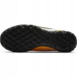 Buty piłkarskie Nike Mercurial Vapor 13 Academy Tf Junior AT8145 801 żółte pomarańczowe 5