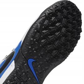 Buty piłkarskie Nike Tiempo Legend 8 Academy Tf Junior AT5736 104 niebieskie białe 7