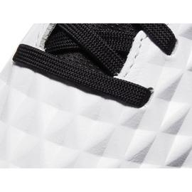 Buty piłkarskie Nike Tiempo Legend 8 Academy Tf Junior AT5736 104 niebieskie białe 5