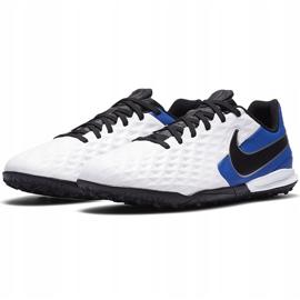 Buty piłkarskie Nike Tiempo Legend 8 Academy Tf Junior AT5736 104 niebieskie białe 3