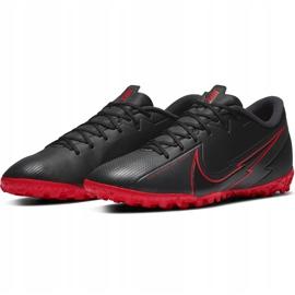 Buty piłkarskie Nike Mercurial Vapor 13 Academy Tf AT7996 060 czarne czarne 3