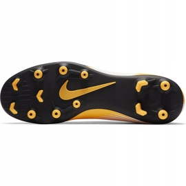 Buty piłkarskie Nike Mercurial Vapor 13 Club FG/MG AT7968 801 pomarańczowe żółte 8