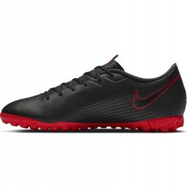 Buty piłkarskie Nike Mercurial Vapor 13 Academy Tf AT7996 060 czarne czarne 2