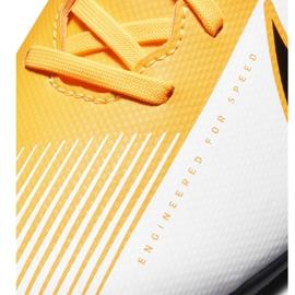 Buty piłkarskie Nike Mercurial Vapor 13 Club FG/MG AT7968 801 pomarańczowe żółte 5