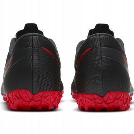 Buty piłkarskie Nike Mercurial Vapor 13 Academy Tf AT7996 060 czarne czarne 4