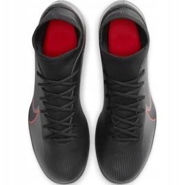 Buty piłkarskie Nike Mercurial Superfly 7 Club FG/MG AT7949 060 czarne czarny,czerwony 1