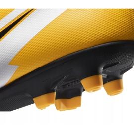 Buty piłkarskie Nike Mercurial Vapor 13 Club FG/MG AT7968 801 pomarańczowe żółte 6